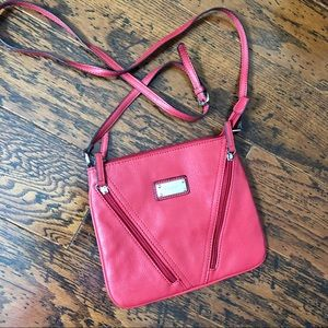 Nine West Small Crossbody Bag with Accent Zippers